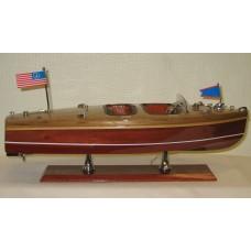 Chris Craft - Wooden Model Boat